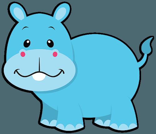 500x430 Hipopotamo Baby Png