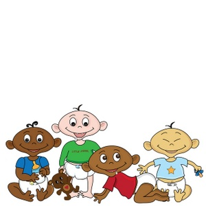 300x300 Free Diverse Babies Clipart Image 0515 1001 3012 0745 Acclaim