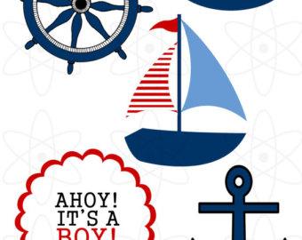 340x270 Navy Clipart Nautical Baby Shower