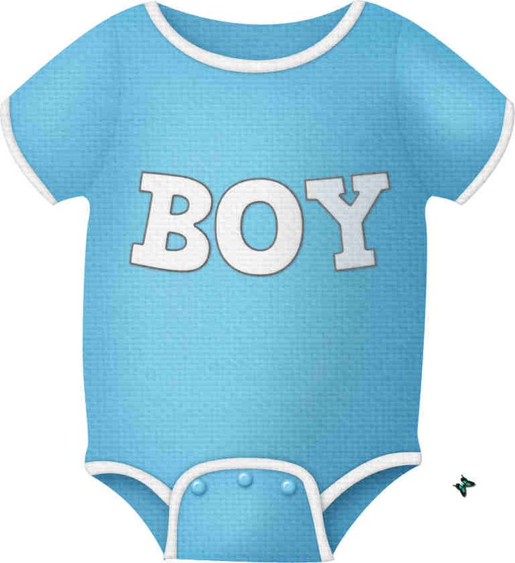 736x805 Baby Boy Items Clipart