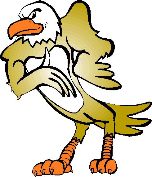 490x568 Eagle Clipart