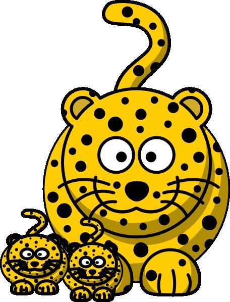 456x598 Top 82 Cheetah Clip Art