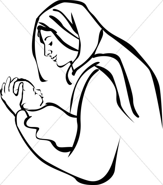 538x612 Baptism Of Baby Jesus Clipart