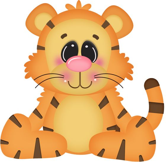 564x548 Baby Tiger Clip Art Baby Animals Tiger Free Clipart Images Image