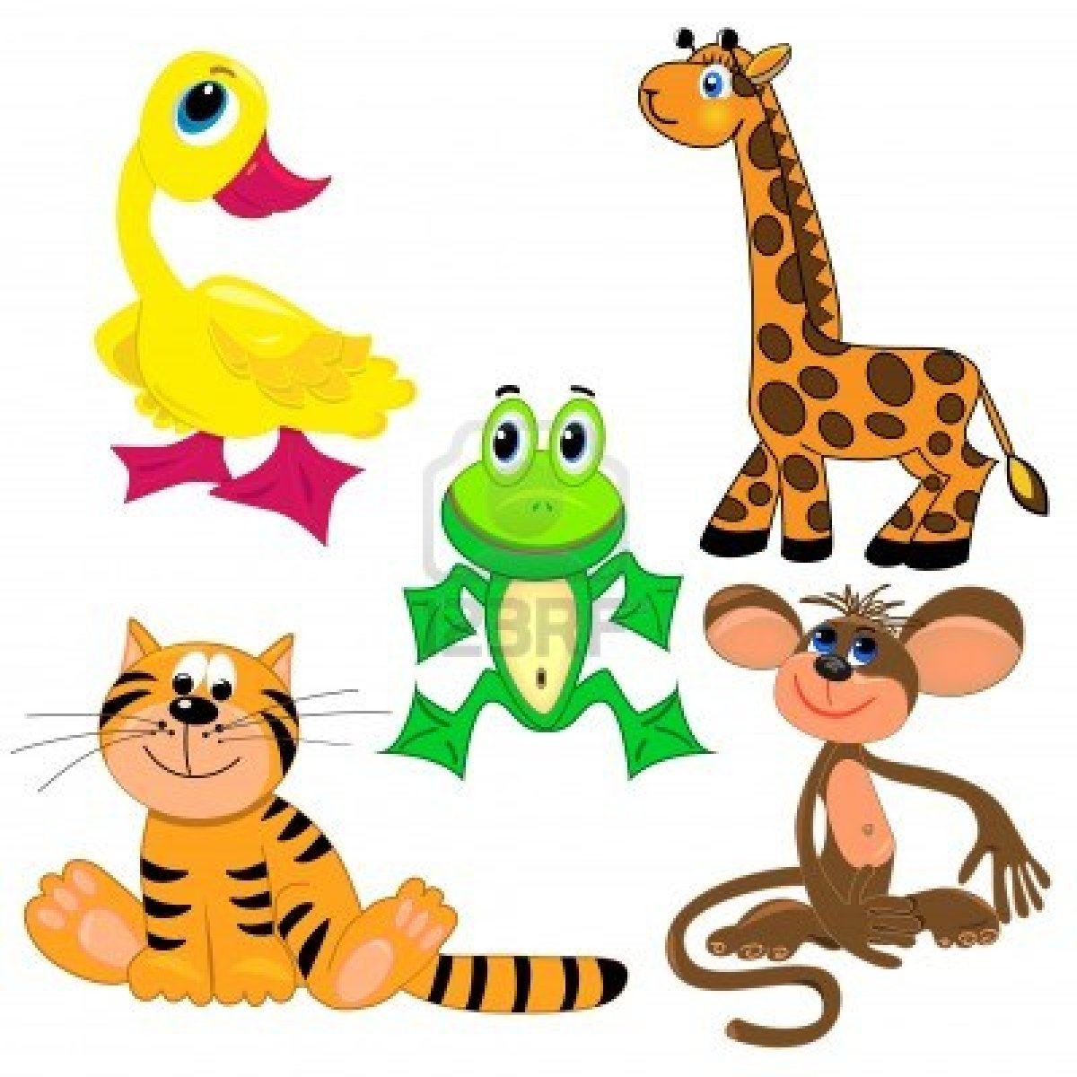 Baby Jungle Animal Clipart | Free download on ClipArtMag
