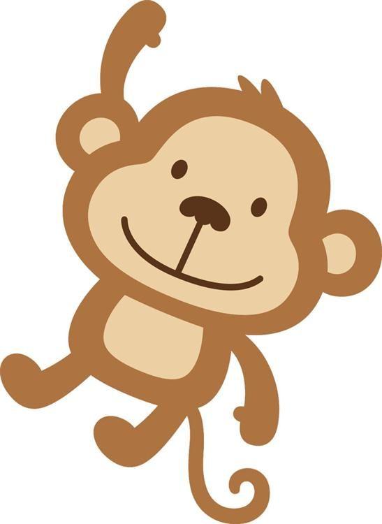 547x750 Baby Animal Clipart Monkey