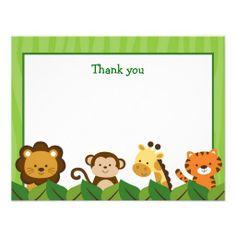 236x236 Baby Safari Border Clip Art