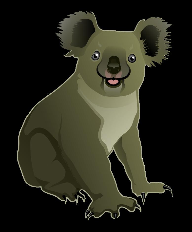 Baby Koala Clipart Free Download Best Baby Koala Clipart On