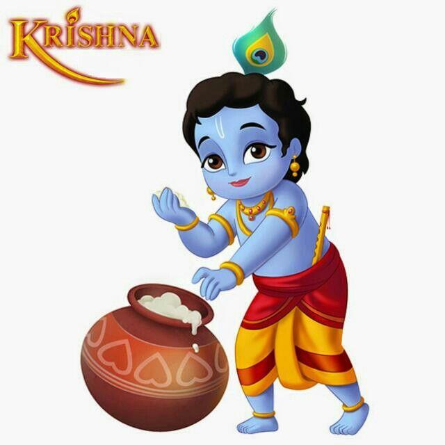 Baby Krishna Clipart