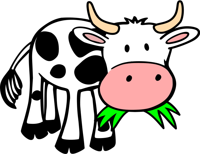 800x617 Cow And Pig Clipart