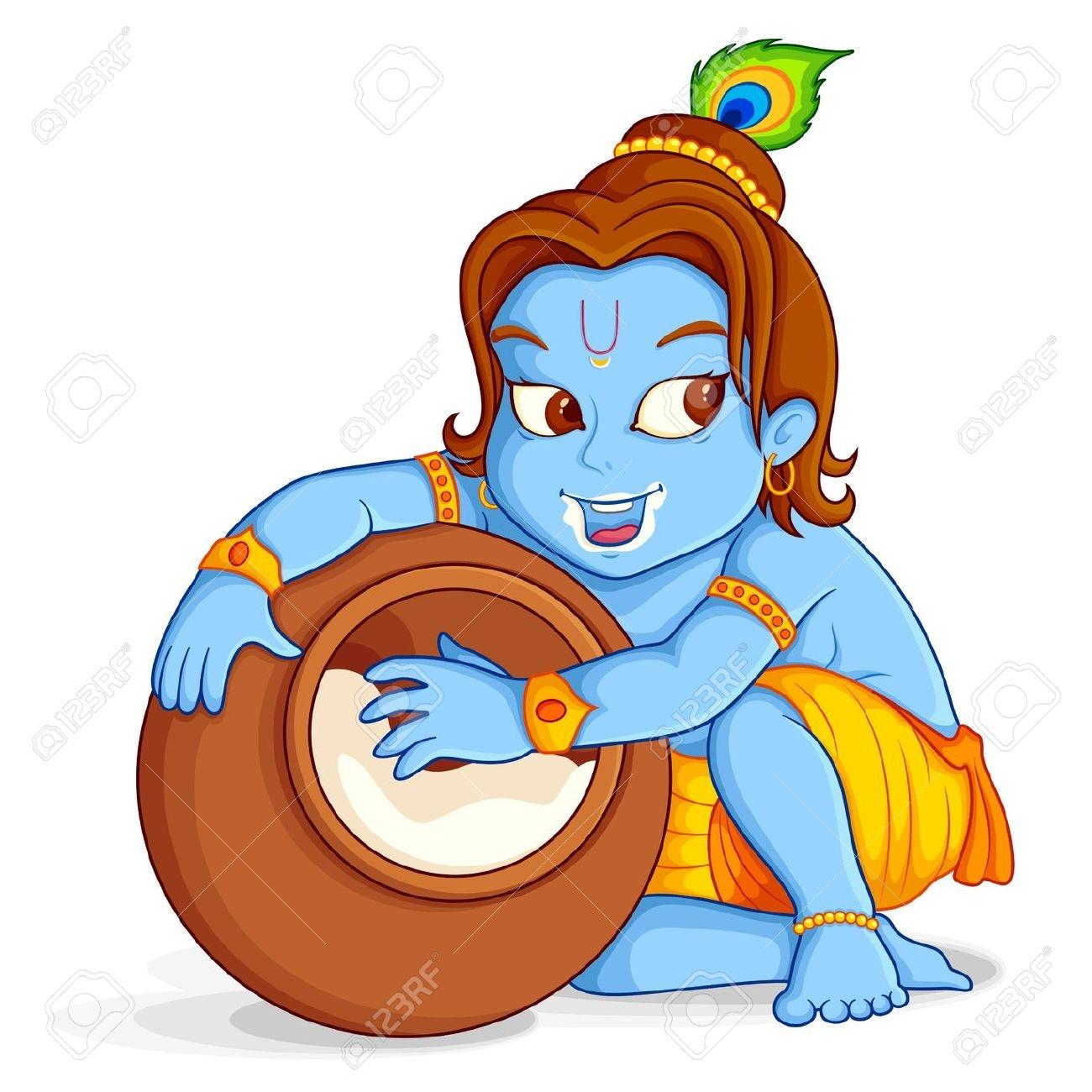 1300x1300 Gods Clipart Bal Krishna