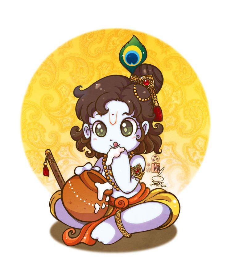 736x883 Gods Clipart God Krishna Baby