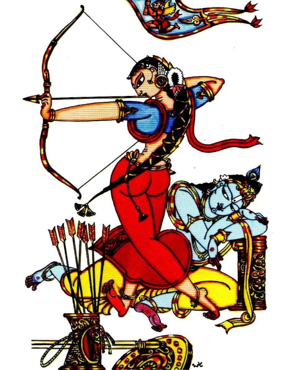 1242x1568 Pin By Gowtham Krishna On Art Indian Art, Krishna