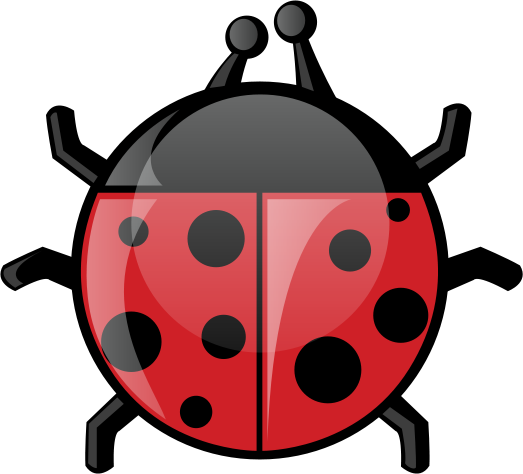 523x474 Cute Ladybug Clipart