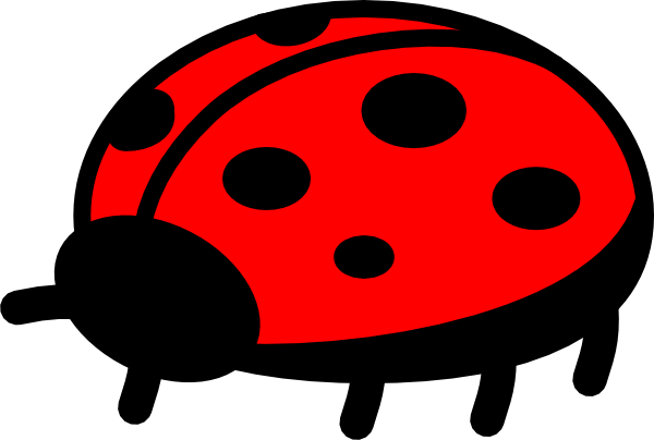 600x404 Free Ladybug Clip Art 7