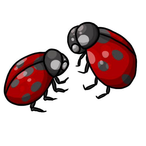 500x500 Free Ladybug Clip Art Drawings Andlorful Images 7