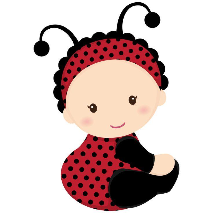 736x736 Ladybug Clipart Baby Shower