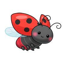 220x220 Ladybug Clipart Cute Cartoon