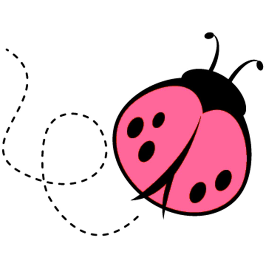 1125x1125 Ladybug Clipart Pastel