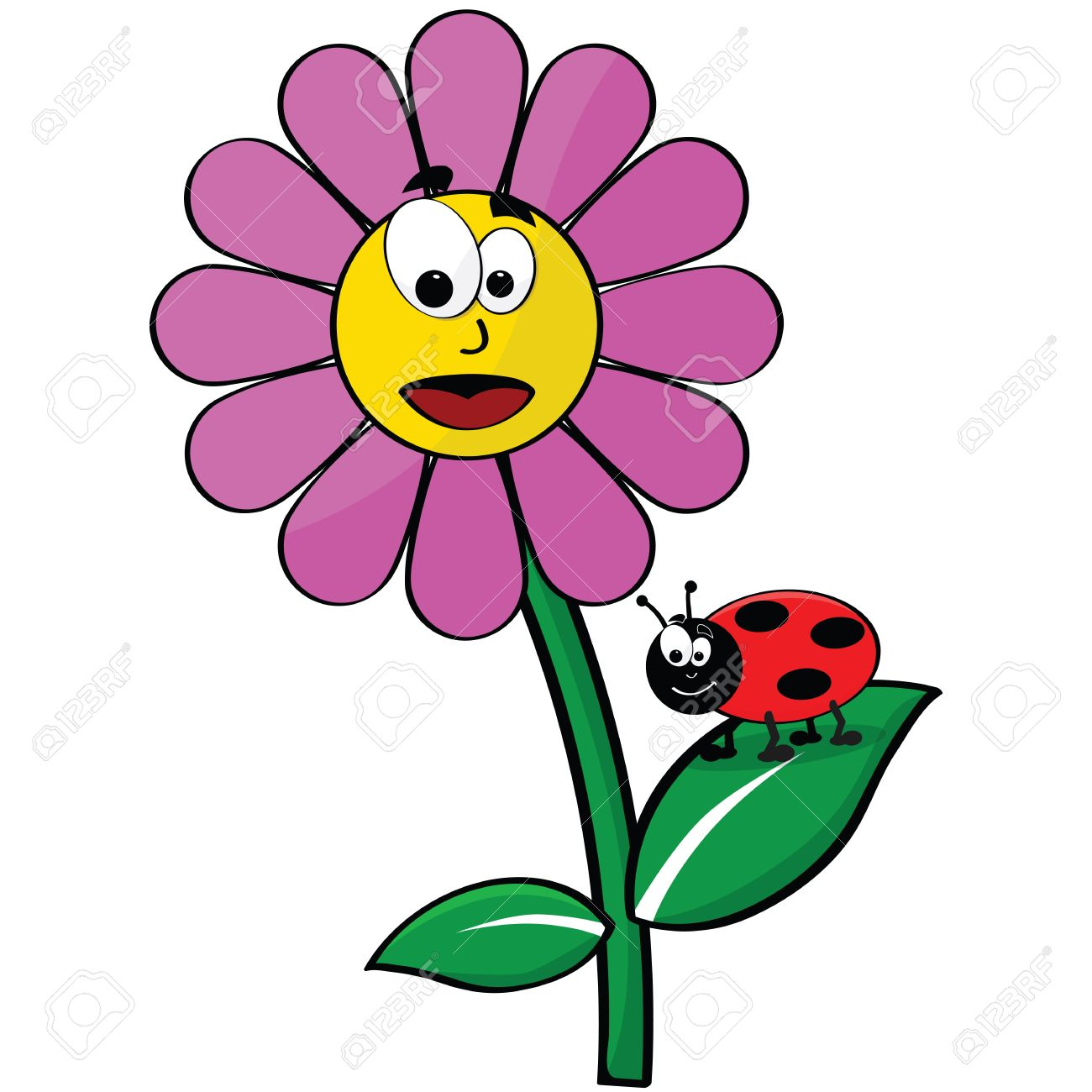 1300x1300 22,072 Ladybug Stock Illustrations, Cliparts And Royalty Free