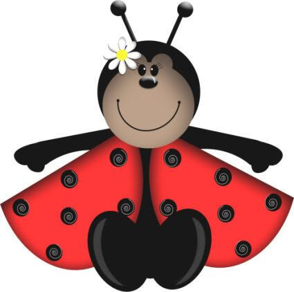 425x422 55 Best Ladybugs Images Flowers, Art Journals