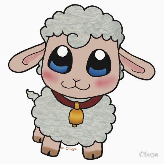 550x550 Drawn Lamb Baby Sheep