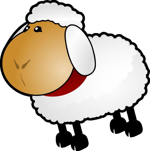 594x598 Sheep, Rotate 6 Clip Art