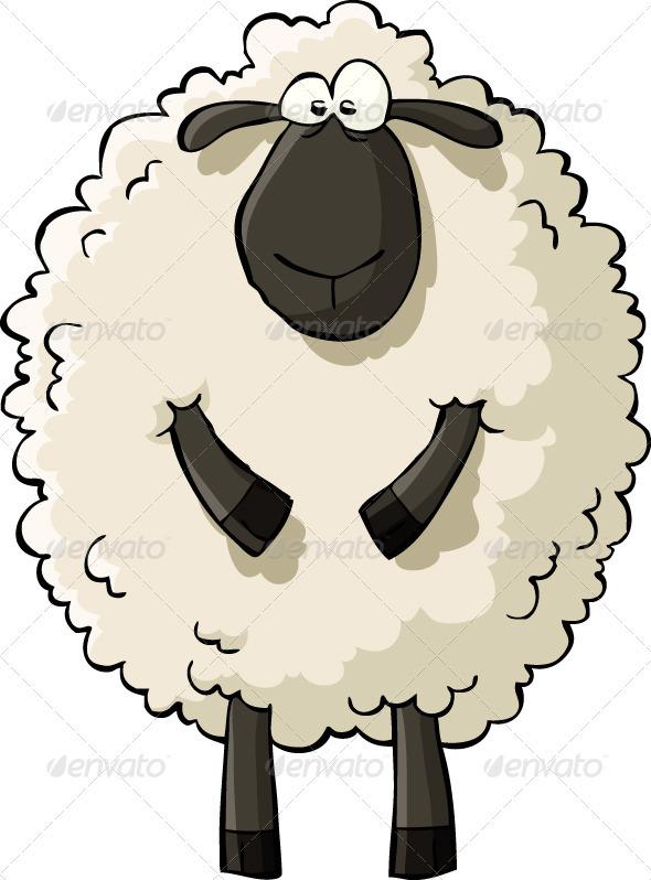 590x798 Sheep Characters, Lambs And Cartoon