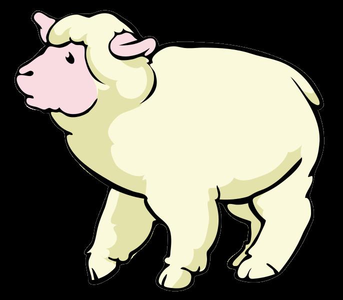 686x600 Sheep Baby Lamb Clipart Clipart Clipartix