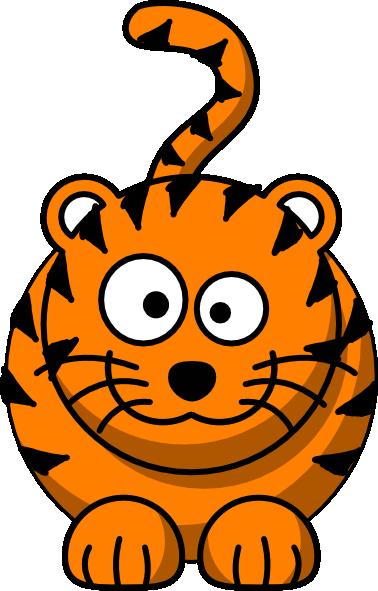 378x591 Baby Tiger Clip Art