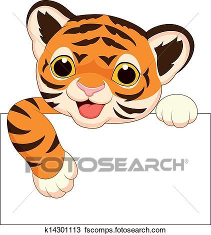 422x470 Clipart Of Cute Baby Rhino Frame K11208653