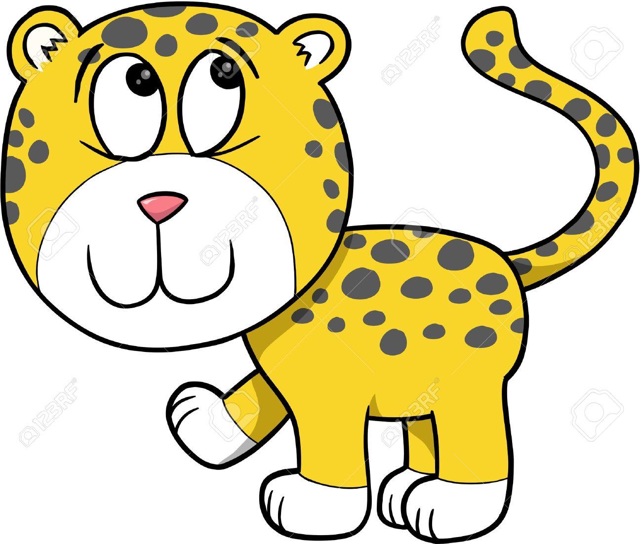 1300x1102 58 Leopard Clipart Clipart Fans