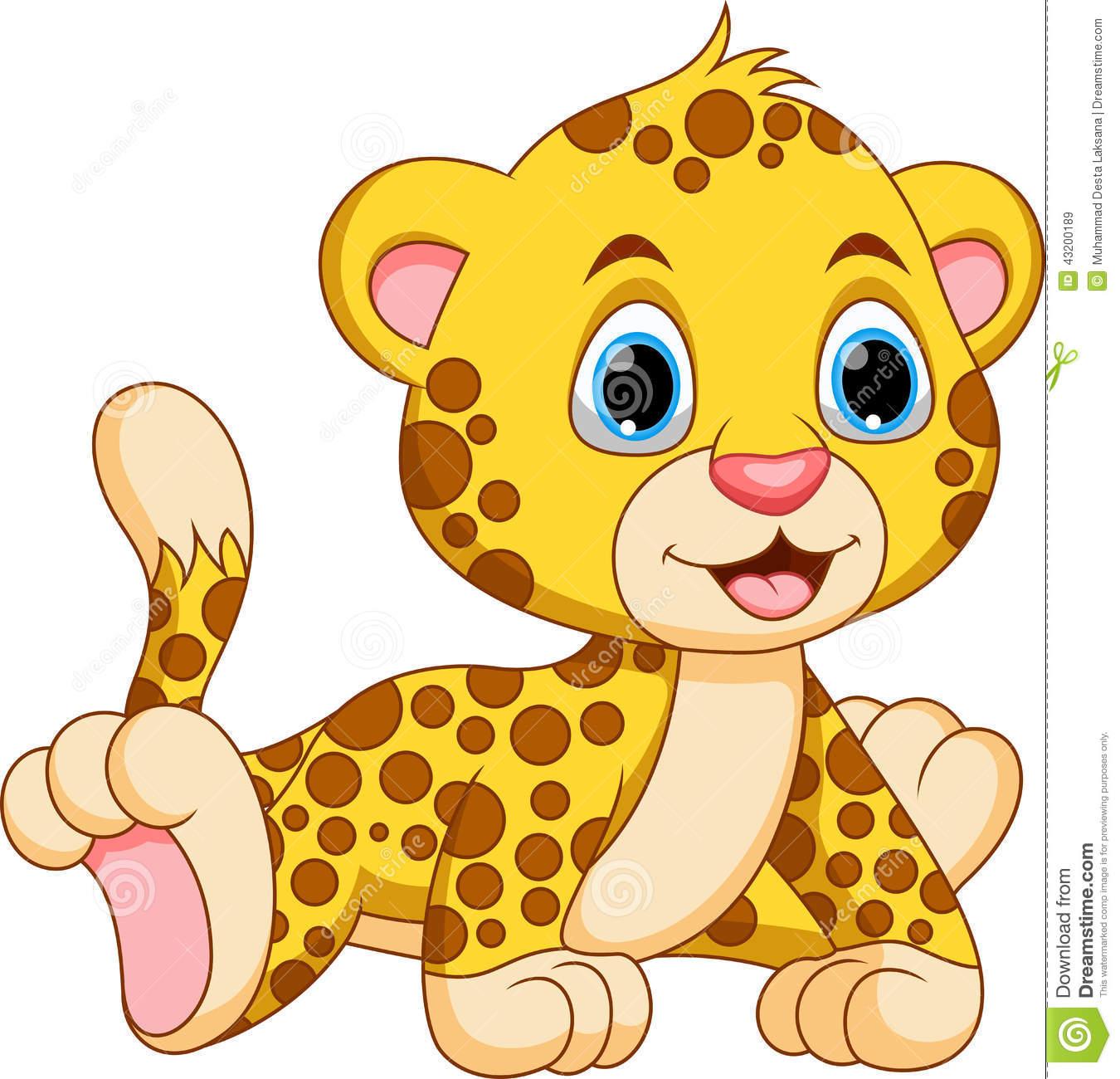 1350x1300 Leopard Clipart Baby Cheetah