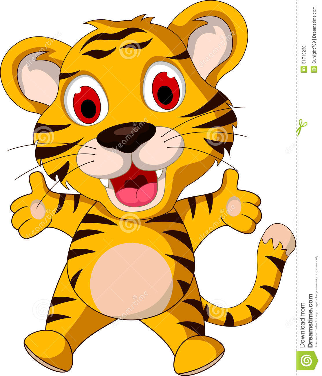 1112x1300 Adorable Clipart Cute Tiger