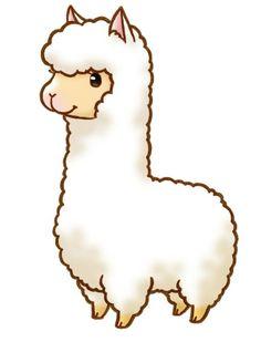 236x309 Cute Alpaca Stamp Summer Alpacas, Kawaii And Drawings