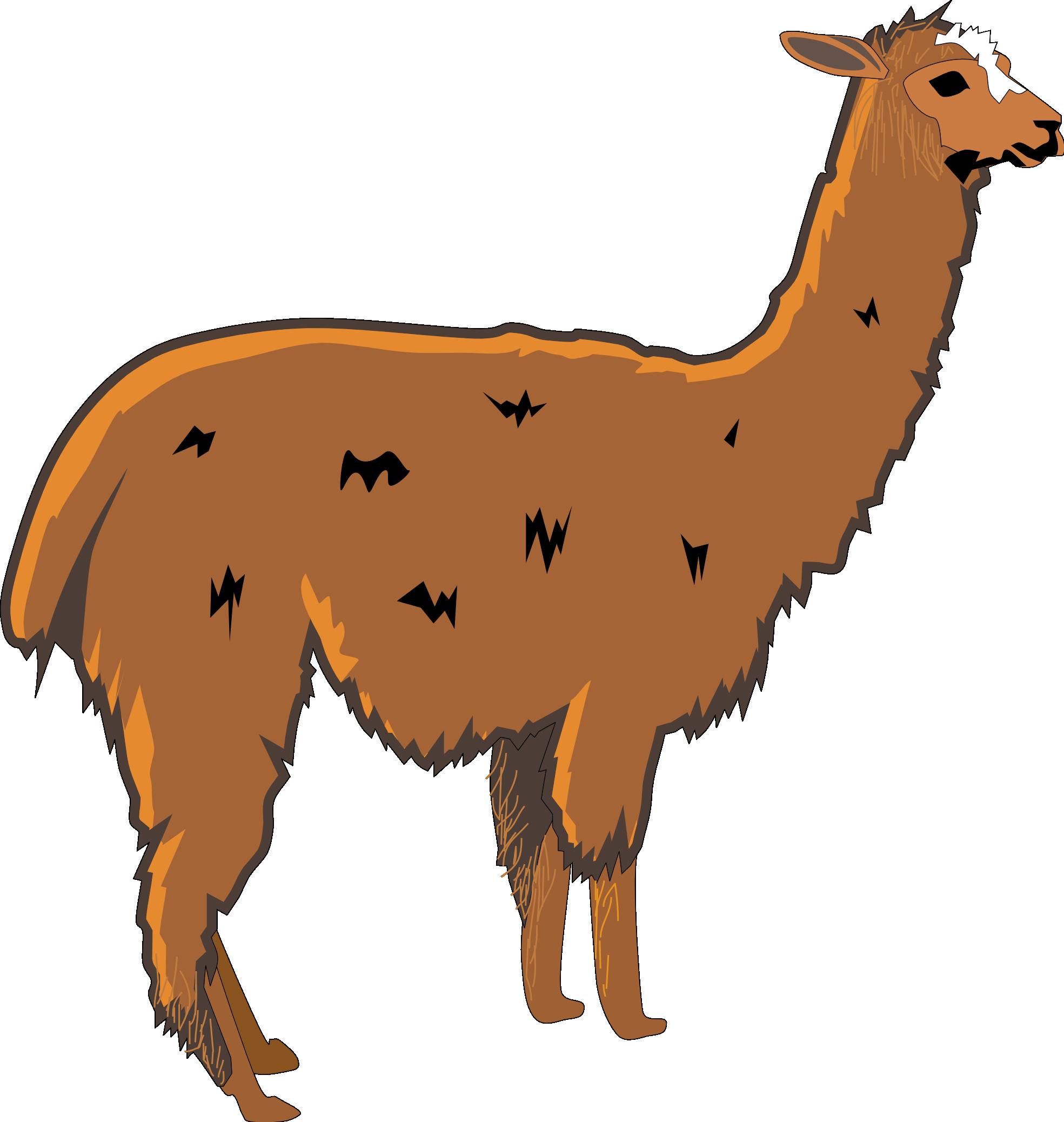 1969x2076 Llama Clip Art Cartoon Free Clipart Images 2