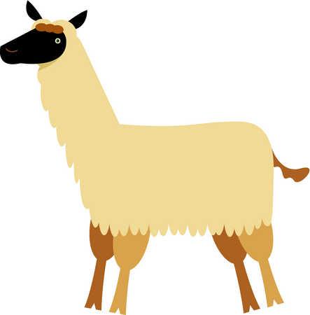 443x450 Llama Clip Art Cartoon Free Clipart Images 3