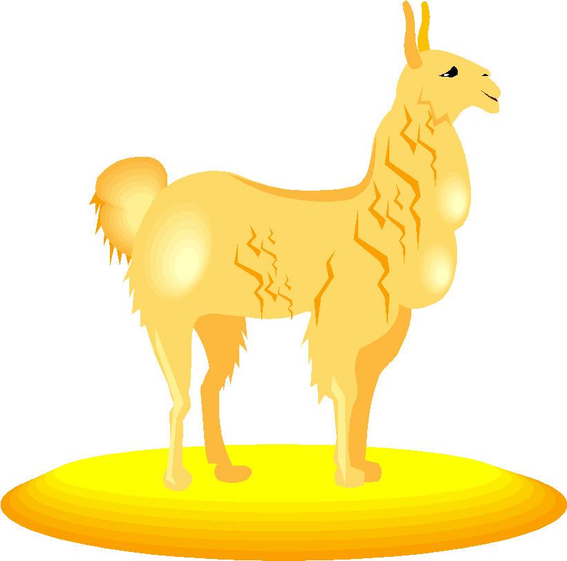 820x812 Llama Clipart Animated
