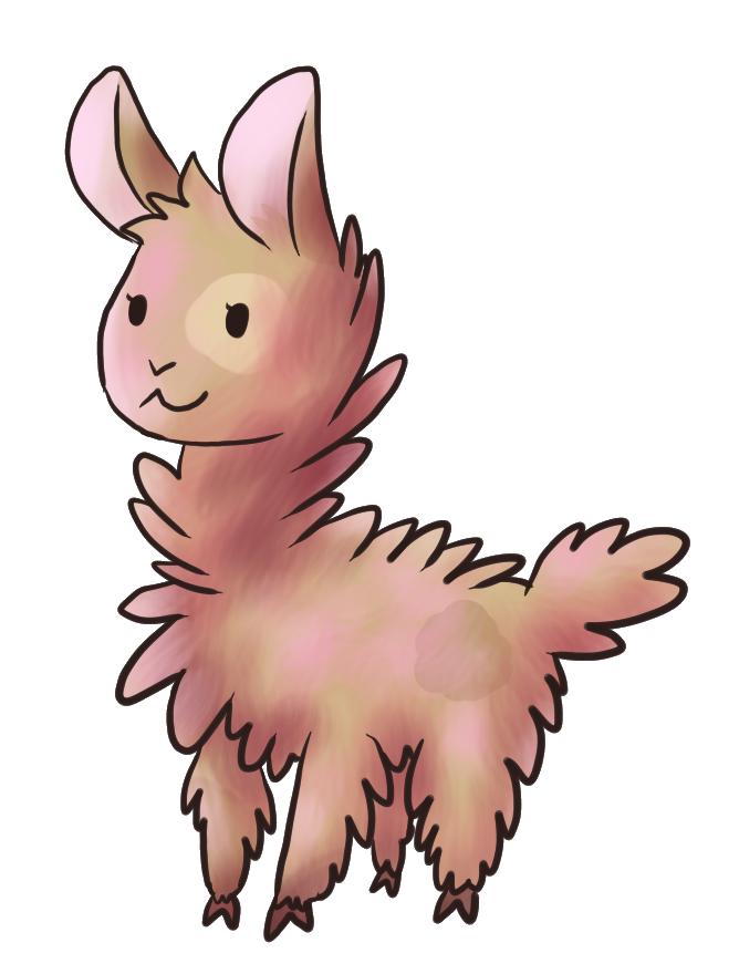 668x880 Llama Clipart Baby Llama