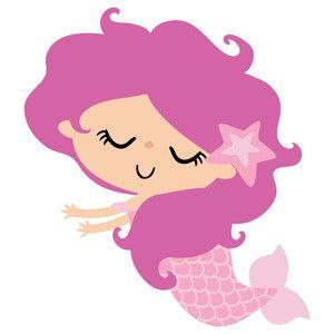Baby Mermaid Clipart