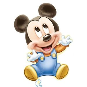 300x300 Disney Baby Mickey Mouse 1st Birthday Party Supershape Jumbo