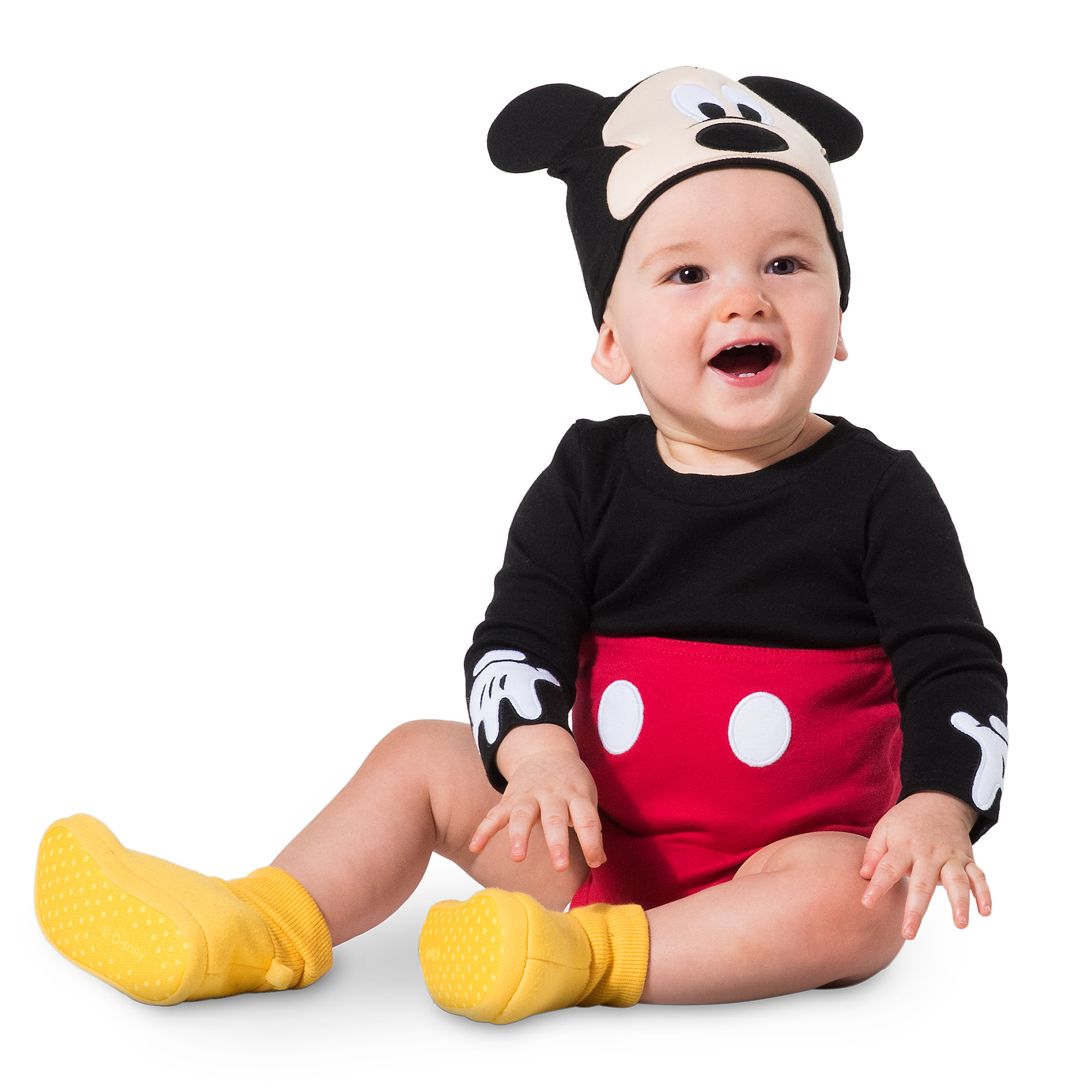 2000x2000 Mickey Mouse Costume Bodysuit Set For Baby