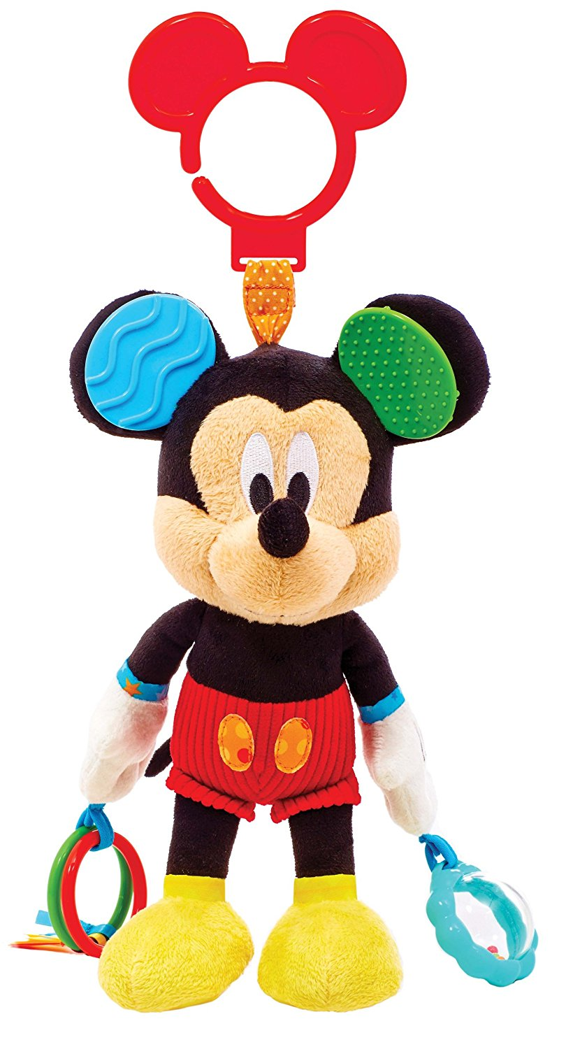 810x1500 Disney Baby, Mickey Mouse Activity Toy Plush Animal