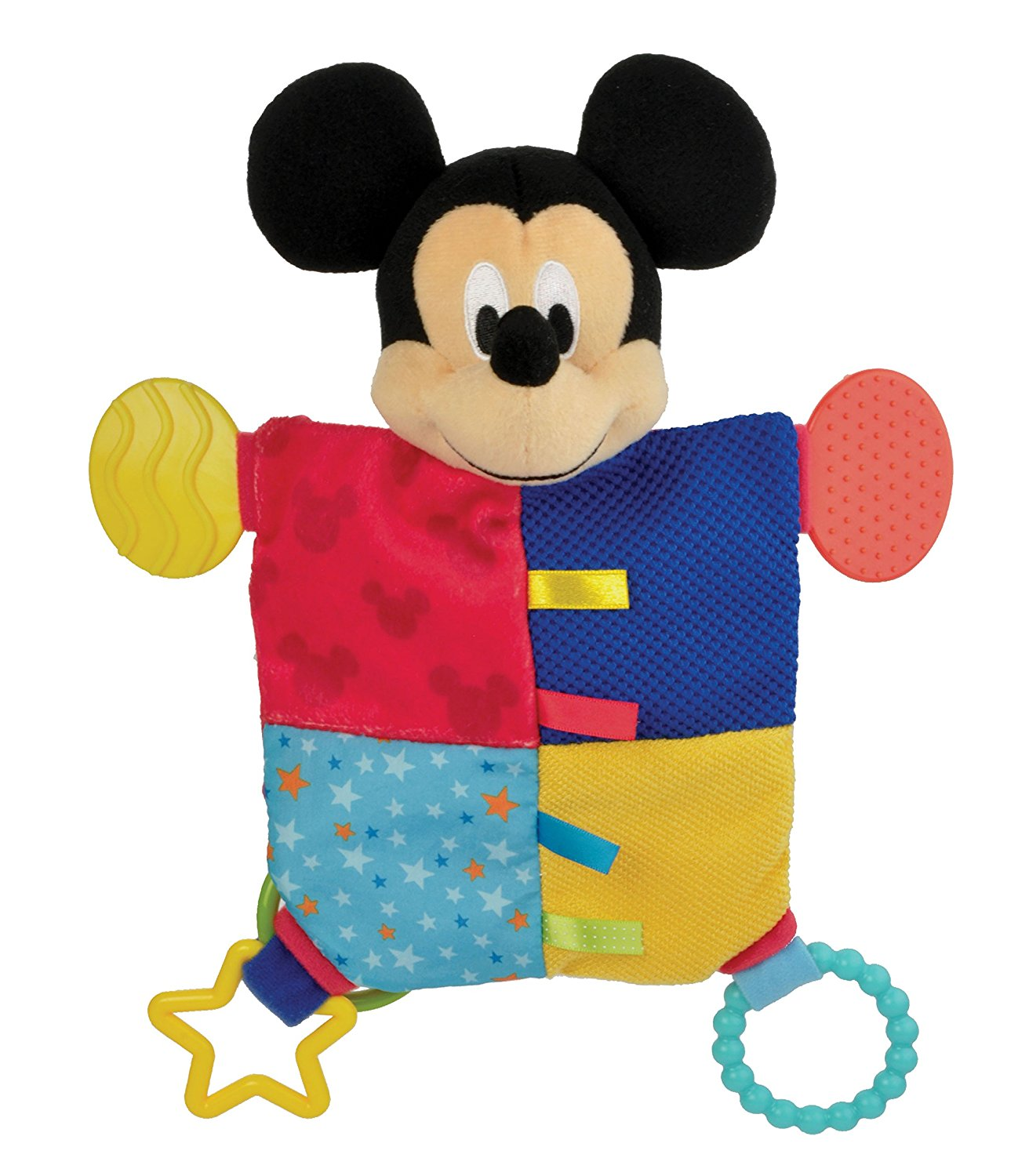 1312x1500 Disney Baby, Mickey Mouse Flat Blanky Teether Baby