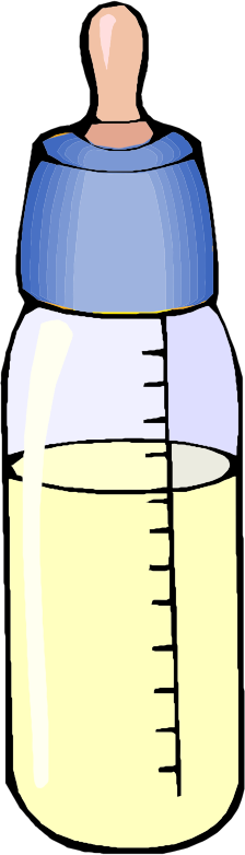224x782 Bottle Clipart Baby Milk