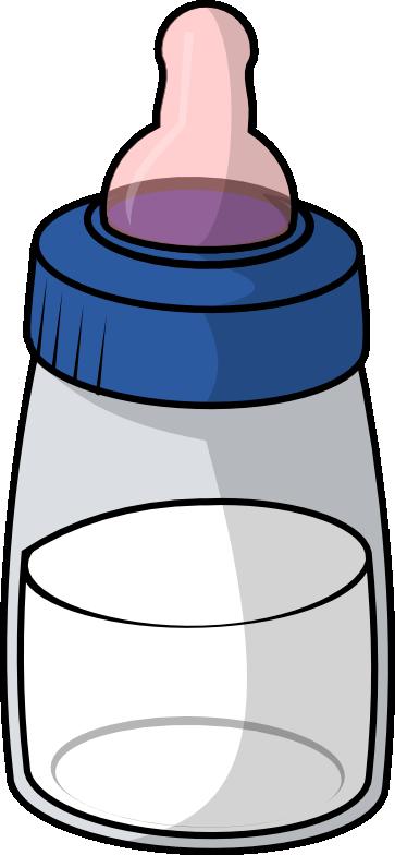 363x784 Cute Baby Bottle Clipart
