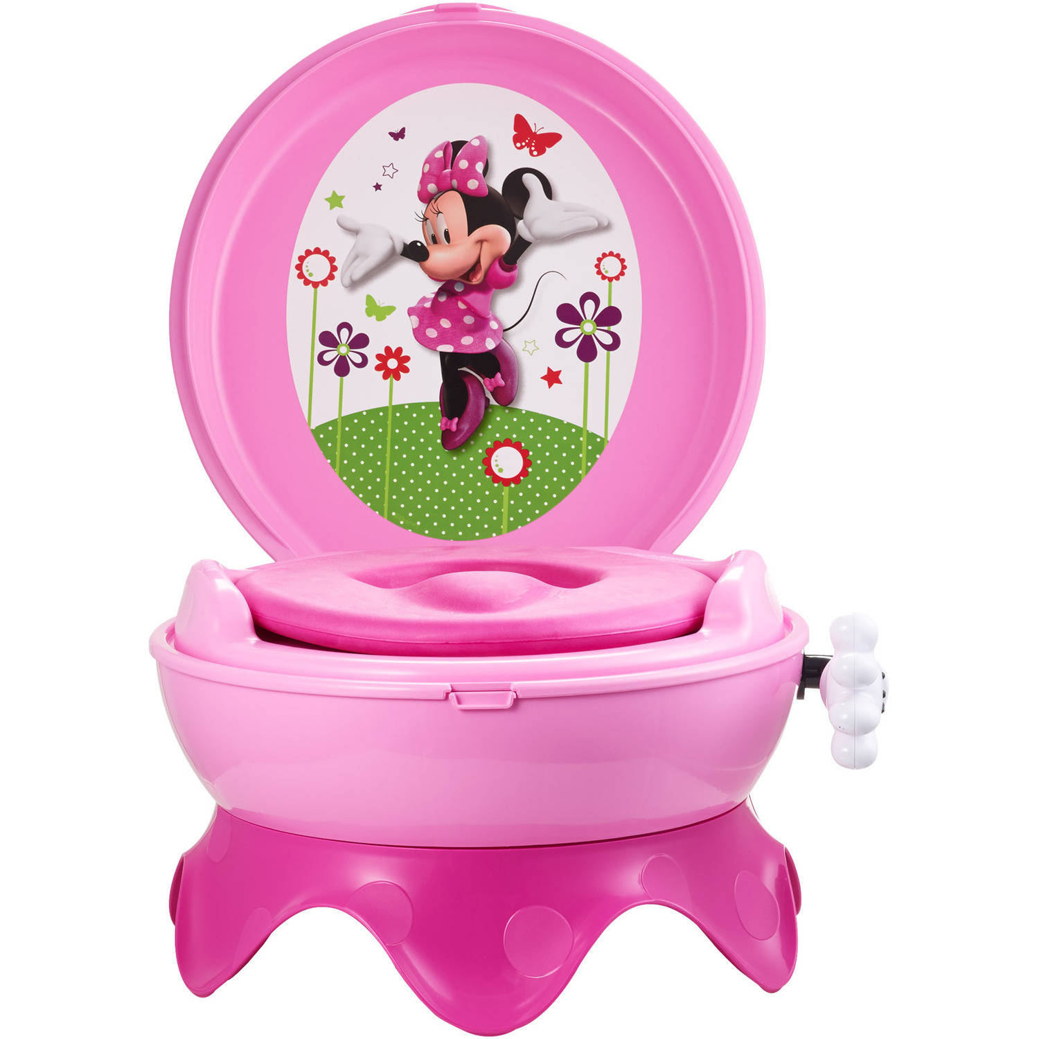 1500x1500 Disney Baby Minnie Mouse 3 In 1 Potty System Pink Squizzas!