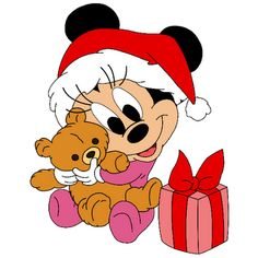 236x236 Minnie Mouse Christmas Clipart