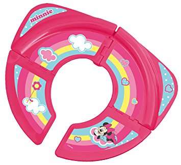 355x324 Disney Baby Minnie Mouse Foldable Travel Toilet Training Seat