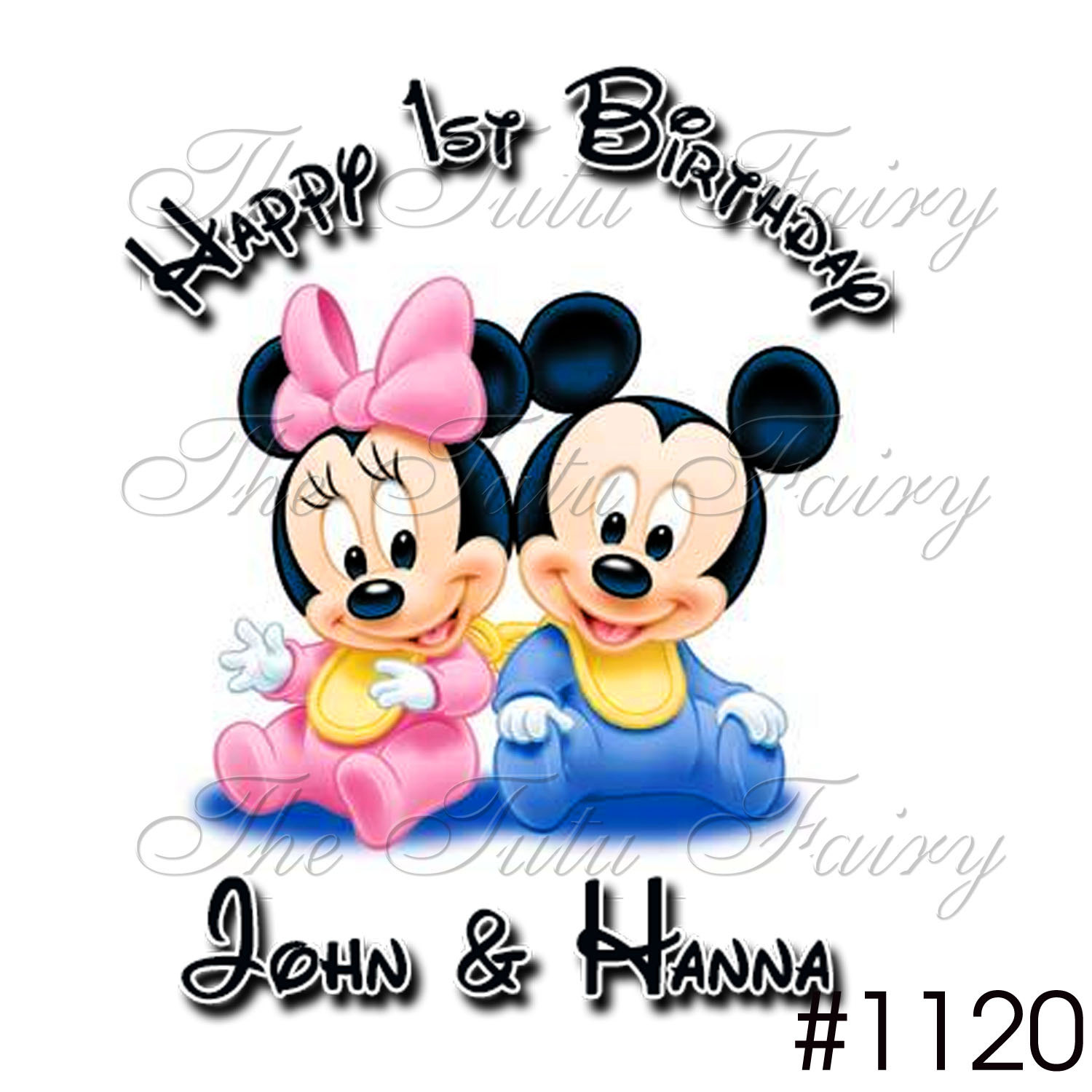 1500x1500 Mickey Y Minnie Baby